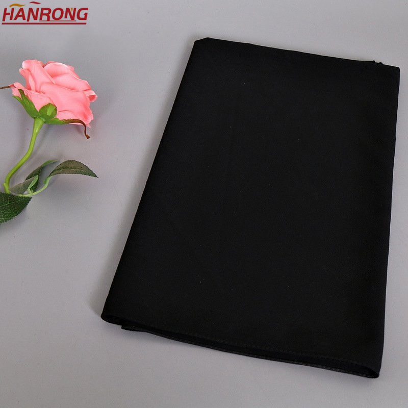 Hotsale Bubble Chiffon Pure Color Plain Headband Thickening Traditional Pastoral Chiffon Crepe Hijab