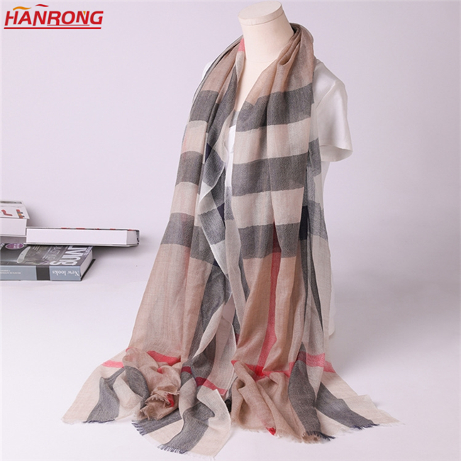 New All Match Solid Color Black Long Fringe Warp Knitting Pure Cashmere Scarf Wholesale