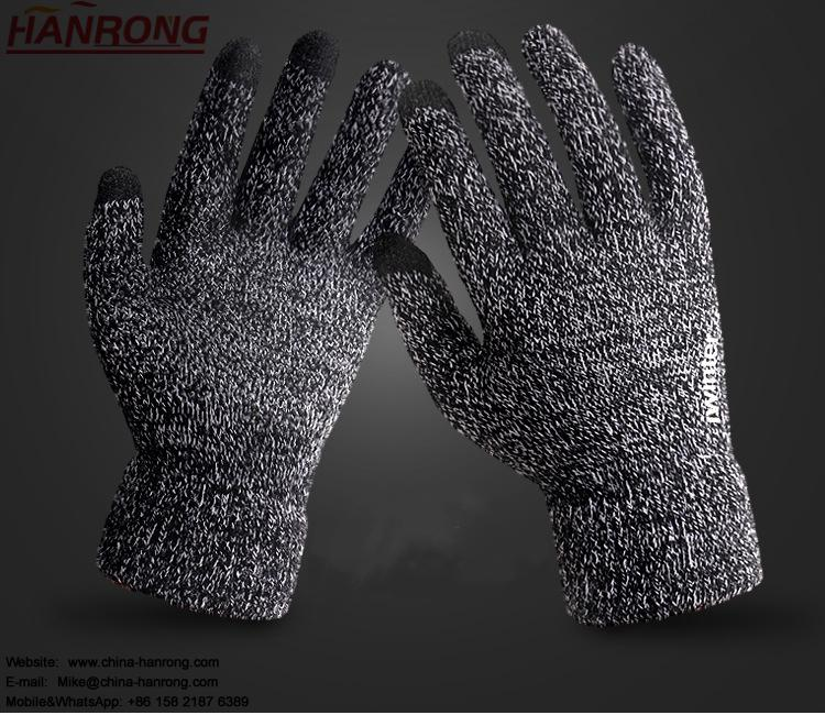 Fashion Keep Warm Touch Screen Gloves Non-slip Knitted Couple Models Gloves Wholesale