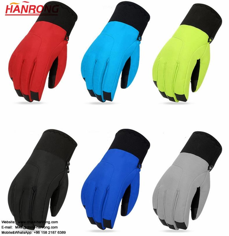 Winter Women Touch Screen Gloves Thicken Waterproof Non-slip Outdooer Skiing Gloves