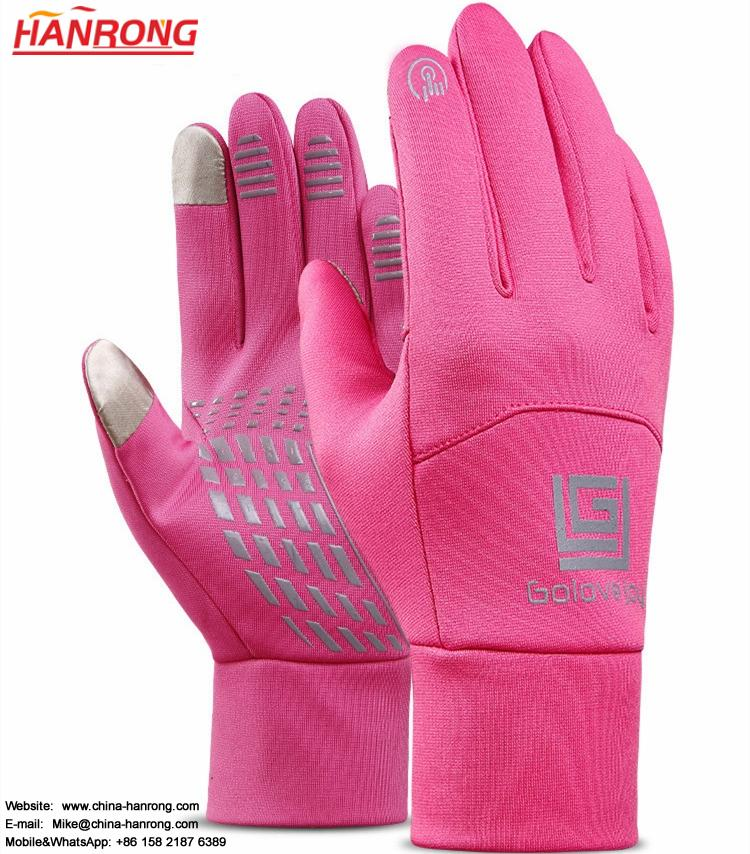 Outdoor Keep Warm Touch Screen Gloves Thicken Windproof Non-slip Sporting Gloves