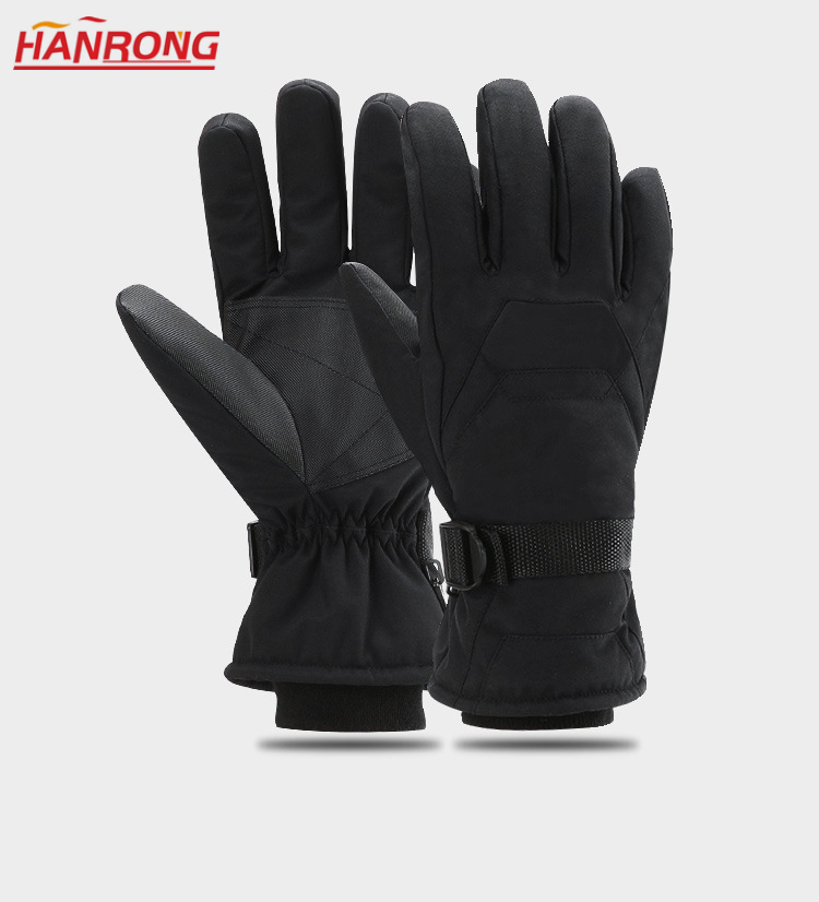 Sports Keep Warm Thicken Waterproof Non-slip Nylon Taslon Outdooer Skiing Gloves