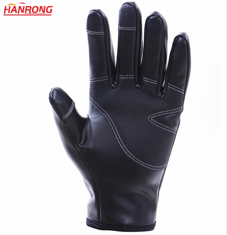 Winter Keep Warm Ourdoor Protection Gloves Waterproof Windproof Leather Gloves
